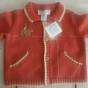 Janie And Jack baby 3-6 months cardigan sweater